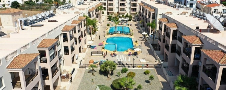 Royal Seacrest Apartments in Tombs of the Kings - Kato Paphos