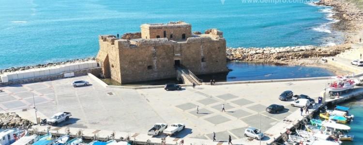 The Roman Castle in Paphos