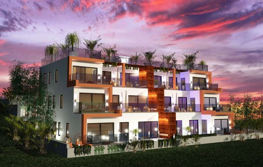 For Sale New Development 3 Bedroom Apartments in Peyia